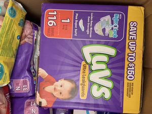 Diapers size 1 for Sale in Antioch, CA