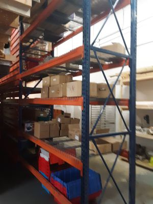8' and 8.5' Pallet Rack Beams for a Garage or Warehouse Shelving. for Sale in Tampa, FL