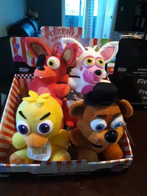 Fnaf plushies for Sale in Newark, NJ