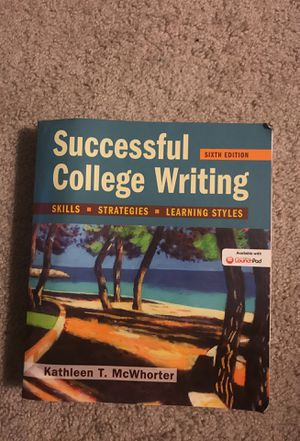 Successful college writing book 6th edition by Kathleen T. McWhorter for Sale in Rockville, MD