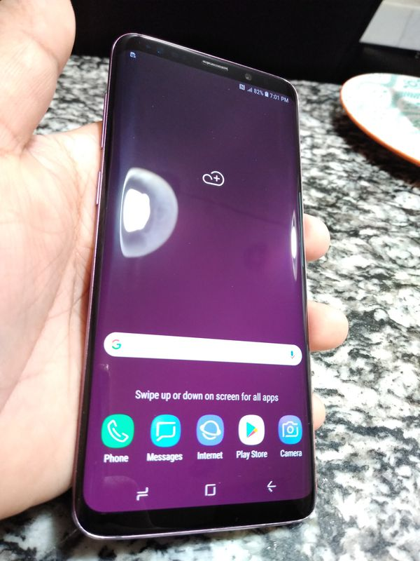 Galaxy s9+plus 64GB unlock for all carriers clean IMEI no dents or scratches