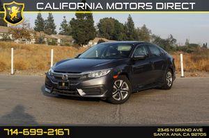 2016 Honda Civic Sedan for Sale in Santa Ana, CA