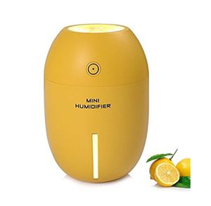New Lemon Shaped Ultrasonic LED Humidifier Air Purifier for Sale in Spring, TX