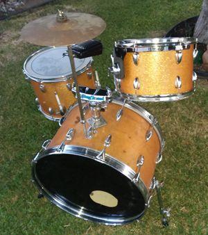 Slingerland Gold Sparkle Drums for Sale in Pomona, CA