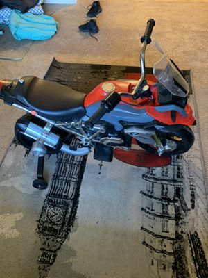 BMW Power Motorcycle for Kid 2+ for Sale in Sacramento, CA