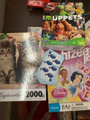 Free Puzzles, flash cards and game for Sale in Spanaway, WA