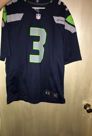 Nike, large non-stitched Jersey, Wilson, Seattle Seahawks for Sale in East Wenatchee, WA