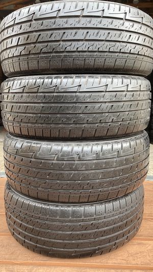 FULL SET 205/55/16 FIRESTONE FIREHAWK ALL SEASON HIGH TREAD for Sale in Clearwater, FL
