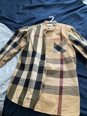 Burberry button up for Sale in El Paso, TX