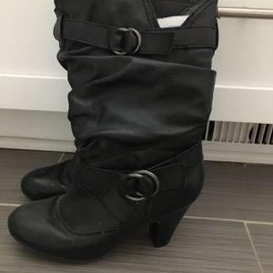 Black Heeled Boots for Sale in Nashville, TN
