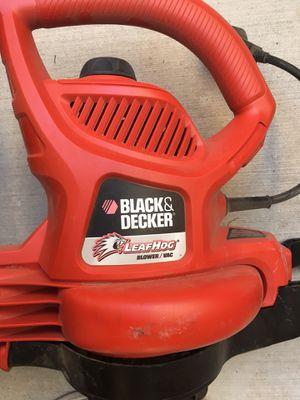 Black and Decker Leaf Hog (Leaf Blower and Bag) for Sale in Las Vegas, NV