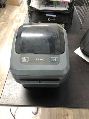Zp500 label printer for Sale in El Monte, CA