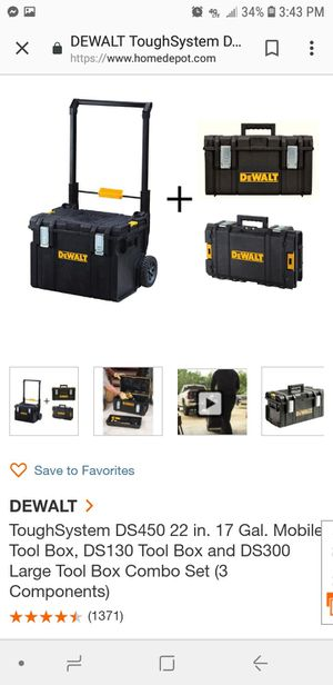 Brand new Dewalt tool box combo for Sale in Las Vegas, NV