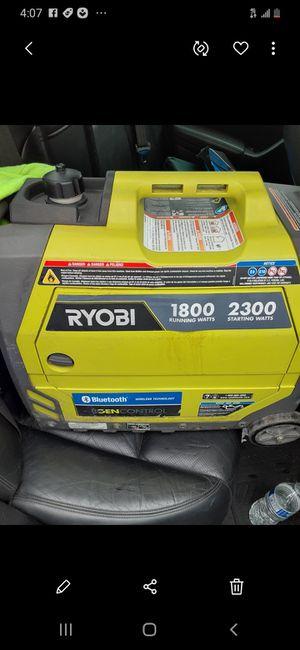 Ryobi Bluetooth Generator 2300W for Sale in Minneapolis, MN