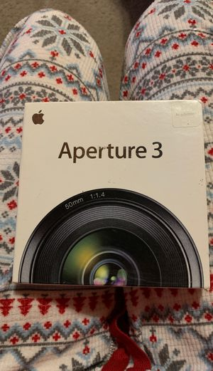 Aperture 3 for Apple for Sale in Pacifica, CA
