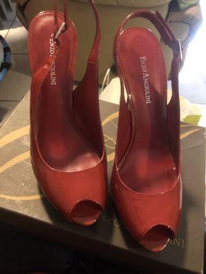 Enzo Angiolini 8.5M red/black heels for Sale in Orlando, FL