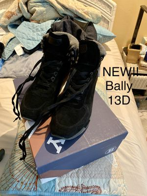 Brand new with box dust bag and authenticity card Bally 'Gregory' men's fur lined boots for Sale in Hidden Hills, CA