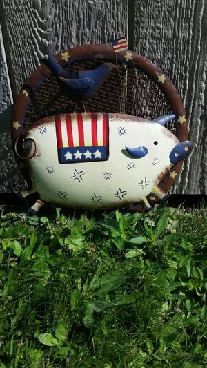 America Metal Pig Sign for Sale in Wenatchee, WA