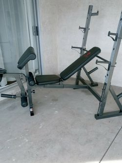 Weight Bench and Squat Rack for Sale in Las Vegas,  NV