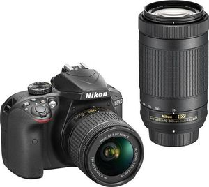 Nikon - D3400 DSLR Digital Camera with 18-55mm and 70-300mm lense - )Goebbert rd) for Sale in Arlington Heights, IL