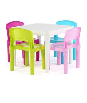 Tot Tutors Kids Plastic Table and 4 Chairs Set 1C-1395 for Sale in St. Louis, MO