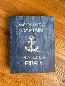 Nautical boy room or nursery decor for Sale in Farmingdale,  NY