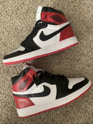 Jordan 1 Black Toe for Sale in Brentwood, CA