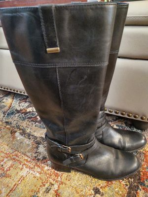 Women's Bandolino Leather Wide Calf Boots sz 8 1/2 for Sale in Columbia, SC