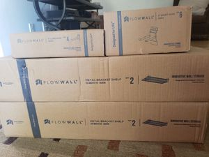 Flow wall shelves and hooks for Sale in Phoenix, AZ