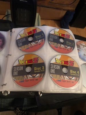 Dragon Ball Z DVDs ALL SEASONS 1-9 for Sale in Anchorage, AK