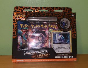 Pokemon champions path hammerlocke gym pin collection for Sale in Los Angeles, CA