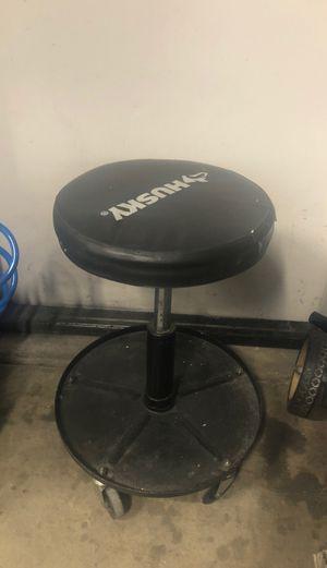 Husky Adjustable Shop Stool for Sale in Fontana, CA