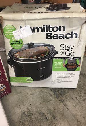 Hamilton Beach Crock Pot XL 10Quart for Sale in Oldsmar, FL