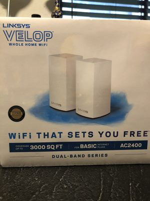 Linksys Velop AC2400 for Sale in Canton, MI