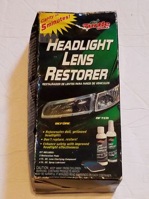 Turtle Wax Headlight Lens Restorer for Sale in Chicago, IL