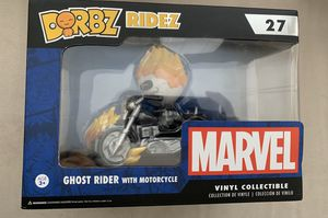 Dorbz Ridez Marvel Ghost Rider With Motorcycle Vinyl Collectible for Sale in Montebello, CA