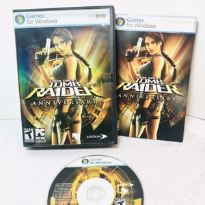 2007 Lara Croft Tomb Raider Anniversary PC Game for Sale in Pawtucket, RI