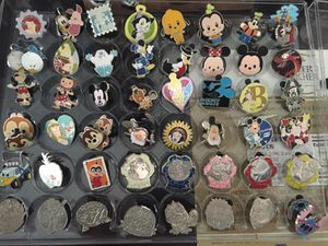 Authentic Disney Pin Collection for Sale in Homosassa, FL