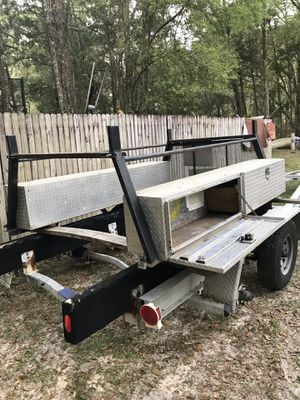 Ladder rack and toolboxes for Sale in Spring Hill, FL