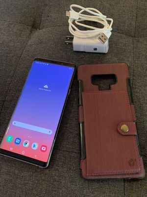 Purple! Note9 128gb unlock—in excelelnt condition—with free case new nd charger ok trade cash on top for Sale in Los Angeles, CA