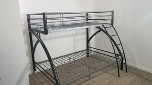 Bunk bed frame, twin bed over full size bed for Sale in La Jolla, CA
