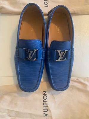 Louis Vuitton Blueberry Loafers Men's Size 10.5-11 for Sale in Tampa, FL