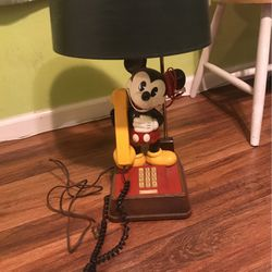Disney Collectible Phone/Lamp for Sale in Los Angeles,  CA