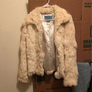 Nine West Beige Faux Fur Coat for Sale in Arlington, VA