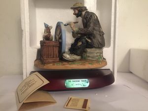 "Emmett Kelly Jr., Collections. ""The Finish Touch"" for Sale in Stow, OH"