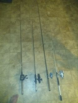 fishing poles and reels for Sale in Grandview,  IL