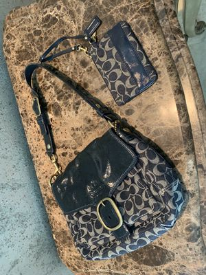 Coach Bag and matching coin purse for Sale in Sugar Land, TX