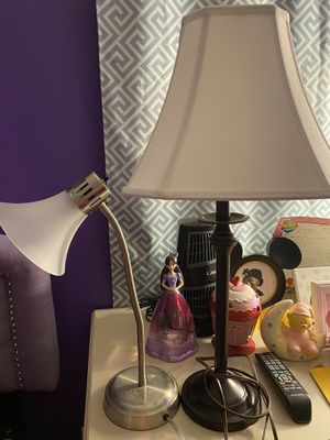 2 lamps for Sale in Silver Spring, MD