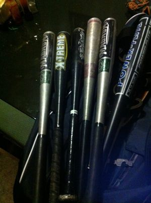 Baseball bats 6 for Sale in San Bernardino, CA