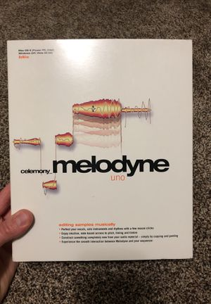 Melodyne Uno Software for Sale in Reedley, CA